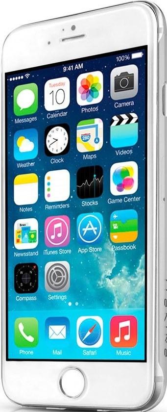 Чехол-накладка itSkins H2O для iPhone 6/6S Transparent - Фото 1