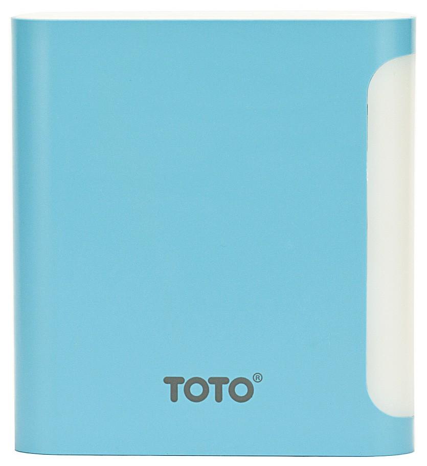Портативная батарея TOTO TBG-47 Power Bank 10000 mAh 2USB 3,1A Li-Ion Blue - Фото 1