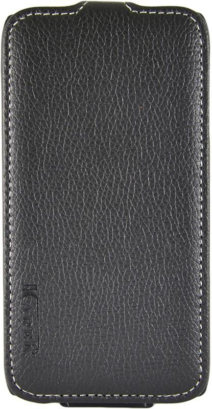 Чехол-флип Carer Base для Lenovo S820/A650 Black - Фото 1