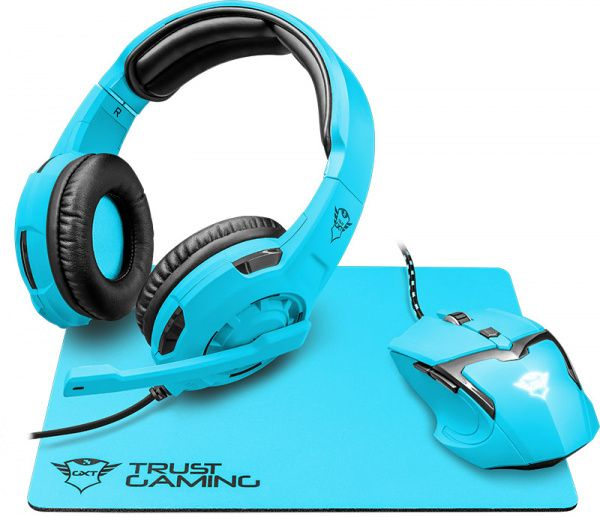 Trust GXT790-SB Spectra Gaming Bundle Blue - фото