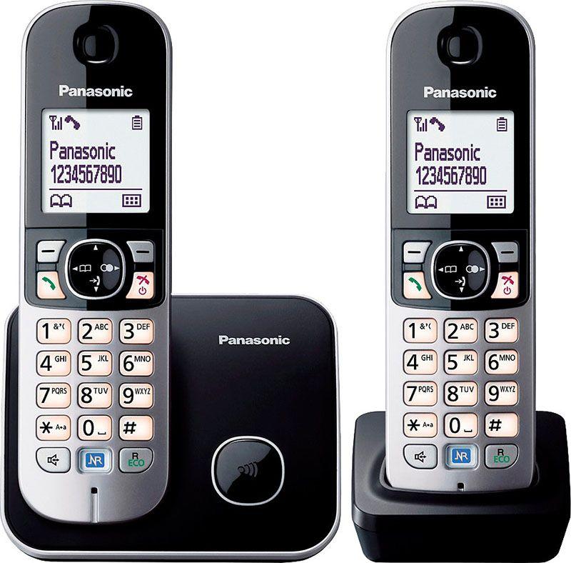 Купить Радиотелефоны, Panasonic KX-TG6812UAB Black