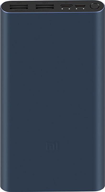 Купить Портативные батареи, Xiaomi Mi Power Bank 3 New 10000mAh Black