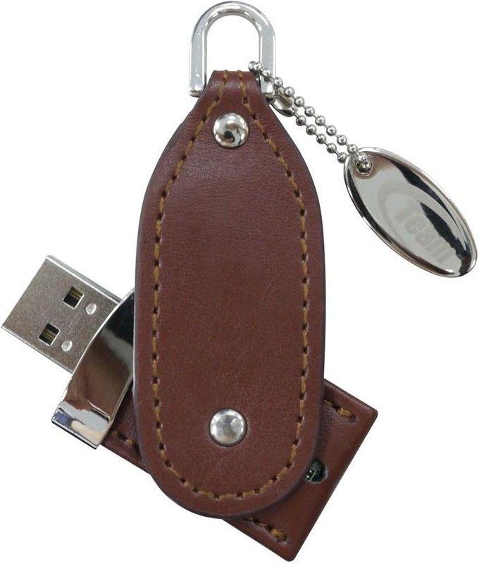 USB Flash Team TL01 4Gb Brown - Фото 1