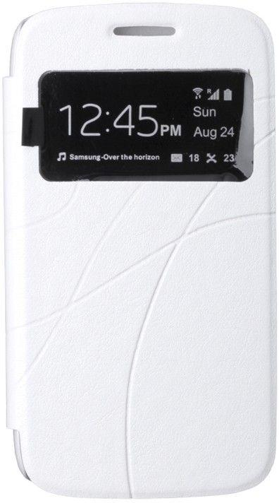 Чехол-книжка Oscar III Book Cover Touch Series для Samsung i8550/8552 White - Фото 1