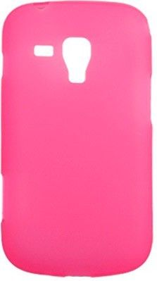 Чехол-накладка Drobak Elastic PU для Samsung S 7562 Pink - Фото 1