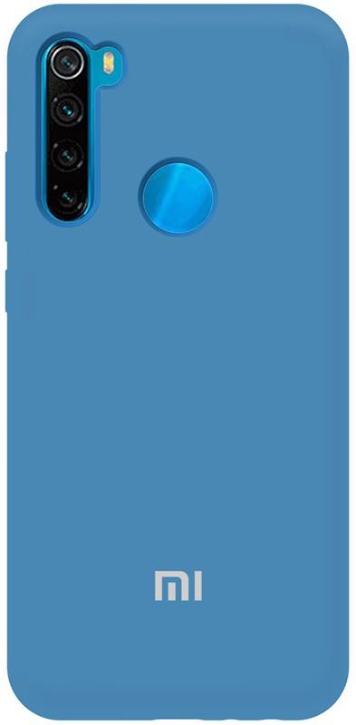Купить Чехлы для телефонов, TOTO Silicone Full Protection Case Xiaomi Redmi Note 8T Navy Blue