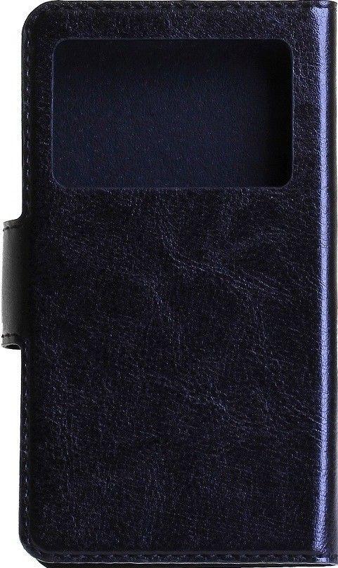 """Чехол-книжка RedPoint Slim Cover 2 (4-5"""") Чёрный с окном - Фото 1"""