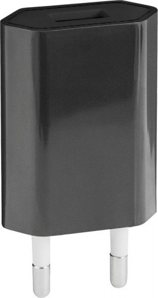 TOTO TZH-51 Travel charger 1USB 1A Black