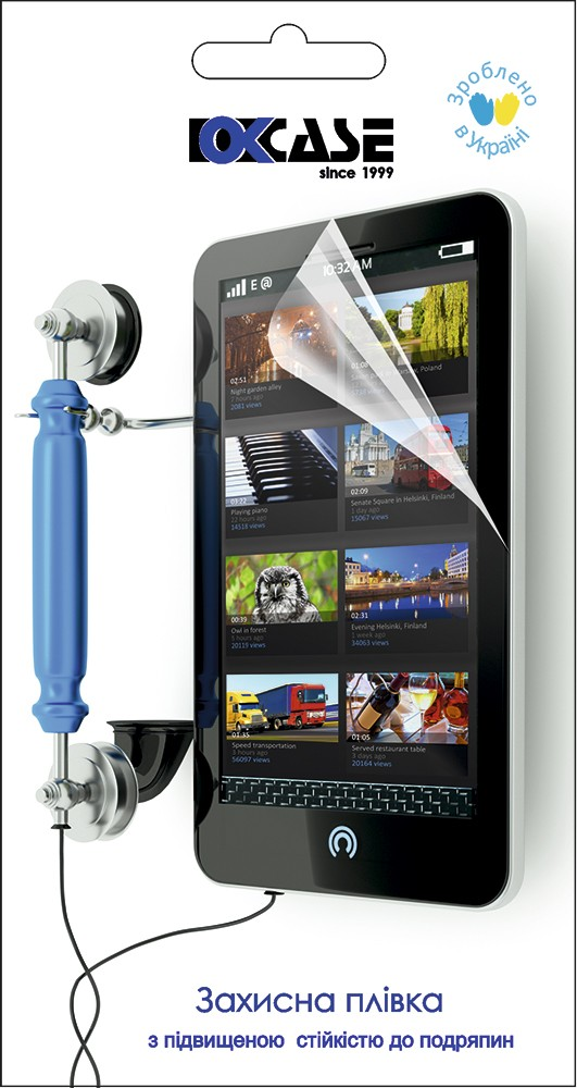 Защитная пленка Okcase Samsung G800H clear - Фото 1