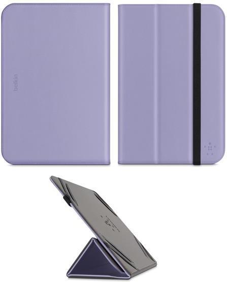 "Чехол-книжка Belkin BELKIN Tri-Fold Folio Stand 7-8"" Lavender - Фото 1"