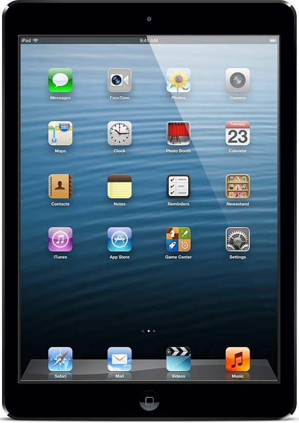 Планшет Apple A1474 iPad Air Wi-Fi 16GB (MD785TU/B) Space Gray - Фото 1