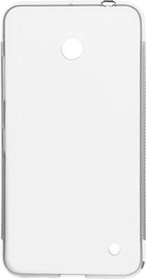 Чехол-накладка NoName Elastic PU для Nokia Lumia 630 Quad Core Dual Sim White - Фото 1
