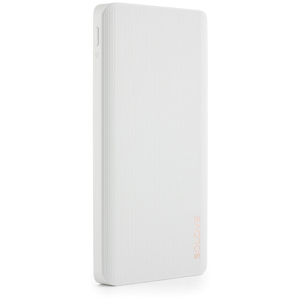 Купить Портативные батареи, Solove S1P Power Bank 10000mAh White