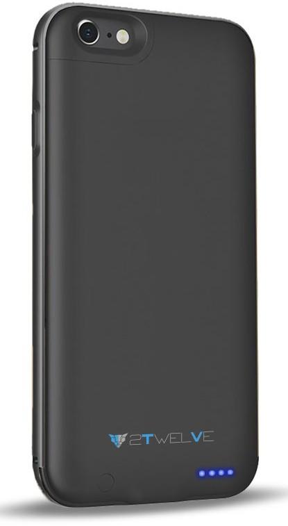 Чехол-аккумулятор 2TWELVE Case-Battery iPhone 6/6S Black - Фото 1