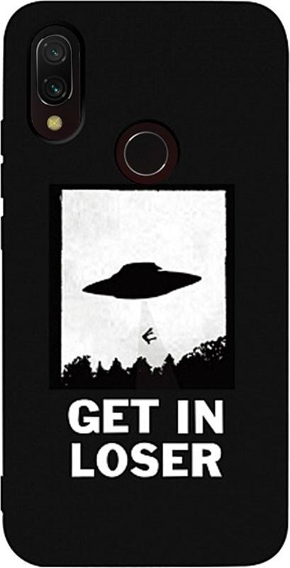 Купить Чехлы для телефонов, TOTO Matt TPU 2mm Print Case Xiaomi Redmi 7 #18 Ufo Loser Black