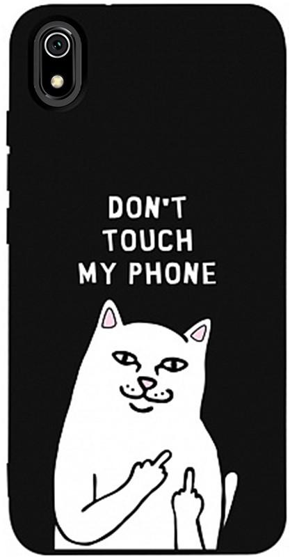 Купить Чехлы для телефонов, TOTO Matt TPU 2mm Print Case Xiaomi Redmi 7A #58 Cat Dontouch Black