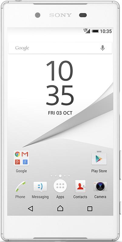 Смартфон Sony Xperia Z5 Dual E6683 White - Фото 1