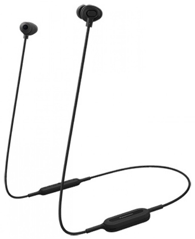 Купить Наушники и гарнитуры, Panasonic RP-NJ310BGE-K Black