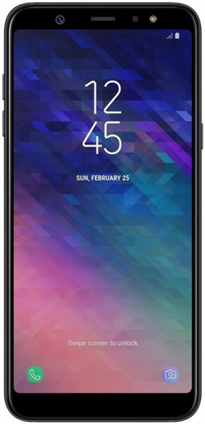 Samsung Galaxy A6+ 4/32GB Black - фото