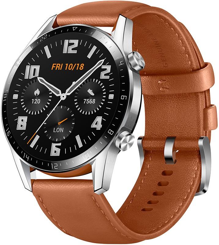 Купить Смарт-часы, Huawei Watch GT 2 Classic 46 mm (55024470) Pebble Brown