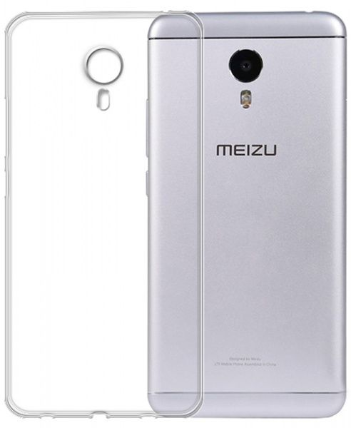 TOTO TPU case clear Meizu M3 Note Transparent - фото