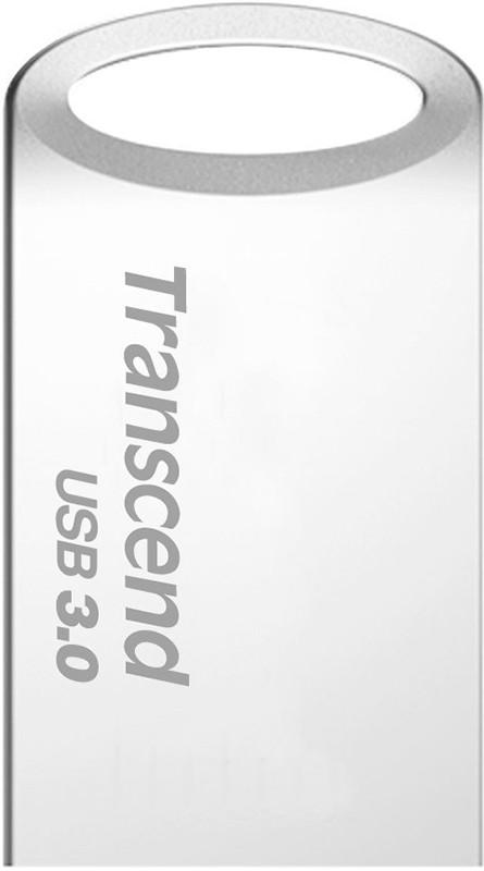 USB Flash Transcend JetFlash 710 USB 3.0 8Gb Silver - Фото 1