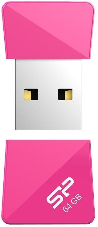 USB Flash Silicon Power Touch T08 64Gb Peach - Фото №3