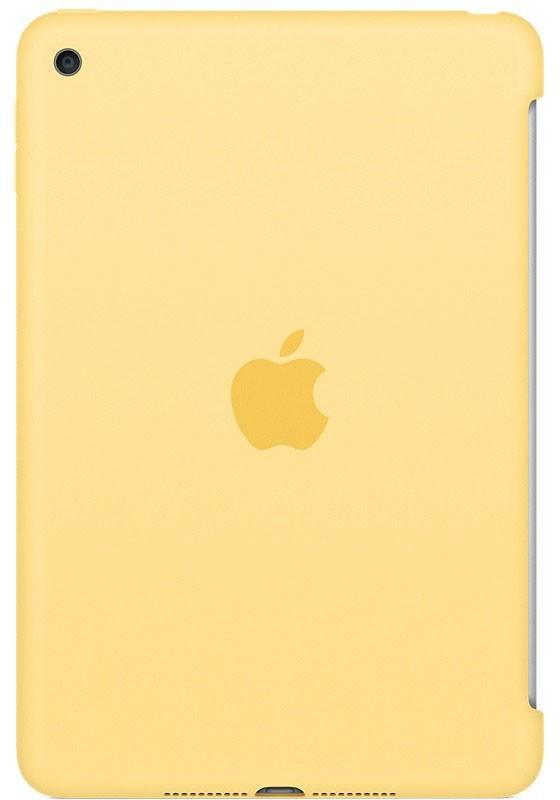Купить Чехлы для планшетов, Apple iPad mini 4 Silicone Case - Yellow (MM3Q2)