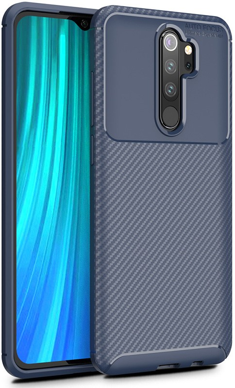 Купить Чехлы для телефонов, TOTO TPU Carbon Fiber 1, 5mm Case Xiaomi Redmi Note 8 Pro Dark Blue
