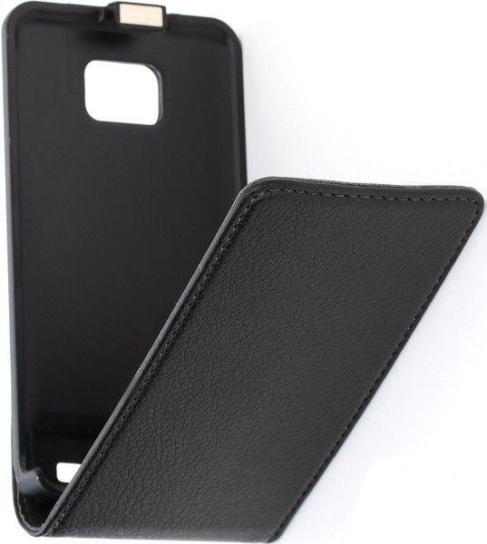 Чехол-флип Cellular Line Flap Essential для Samsung I9100 черный - Фото 1