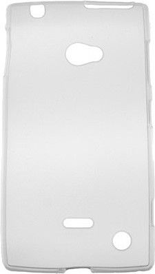 Чехол-накладка Drobak Elastic PU для Nokia Lumia 720 White - Фото №2