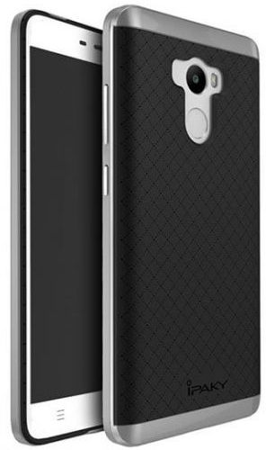 Ipaky TPU+PC Xiaomi Redmi 4 Black/Grey - фото