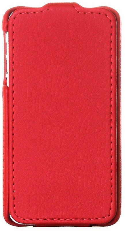 Чехол-флип RedPoint Flip lux для iPhone 4 Red - Фото 1