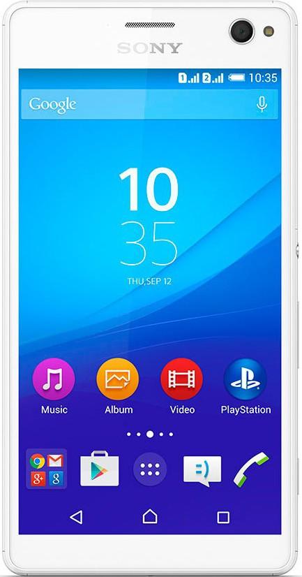 Смартфон Sony Xperia C4 E5333 White - Фото 1