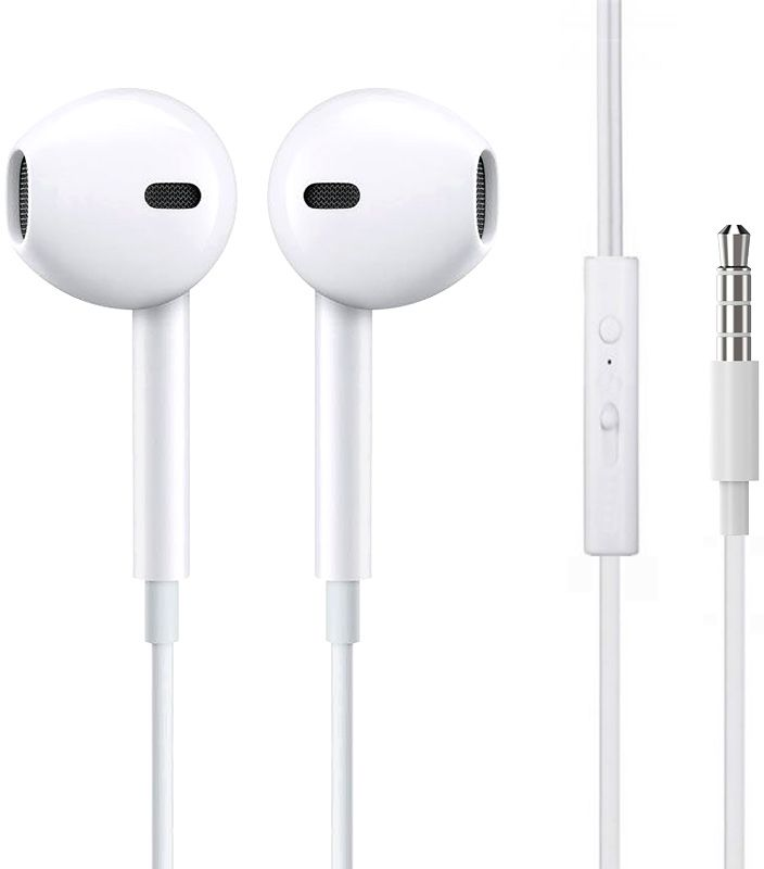 HeyDr Y-03 Wired Earphones White