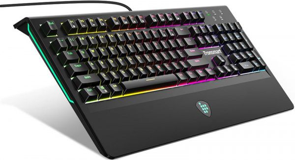 Tronsmart TK09R RGB Mechanical Gaming Keyboard Blue Switch Black - фото