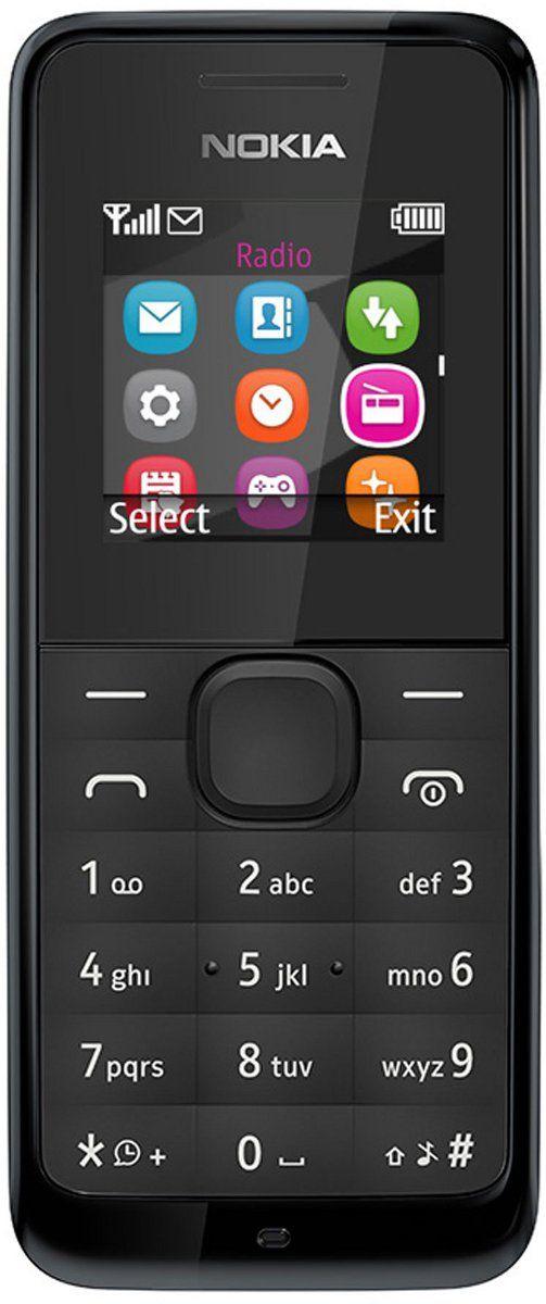 Мобильный телефон Nokia 105 Black - Фото 1