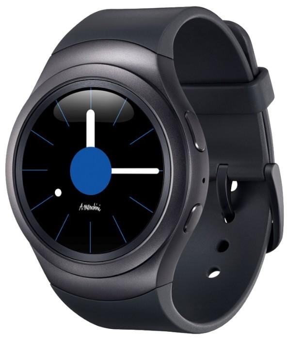 Смарт-часы Samsung Gear S2 Sports Dark Grey - Фото 1