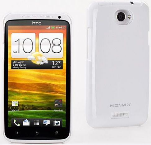 Чехол-накладка Momax Ultra TOUGH для HTC One X/XL UV White - Фото 1