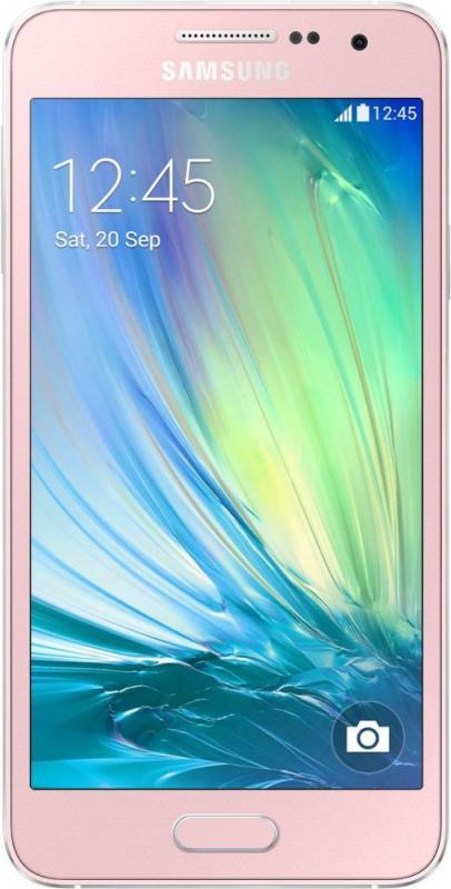 Смартфон Samsung Galaxy A3 A300H/DS Pink - Фото 1