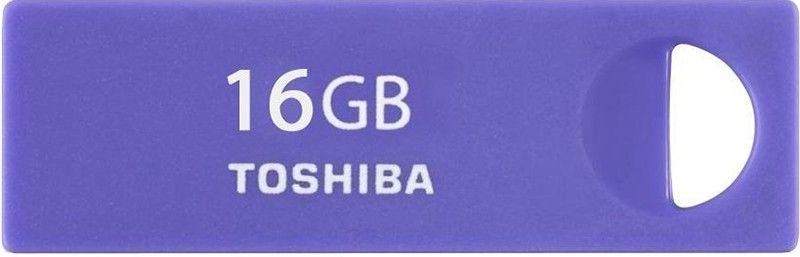 USB Flash Toshiba ENSHU 16Gb Purple/Blue - Фото 1