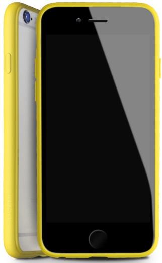 Чехол-накладка DUZHI Super slim Mobile Phone Case iPhone 6/6s Clear\Yellow - Фото 1