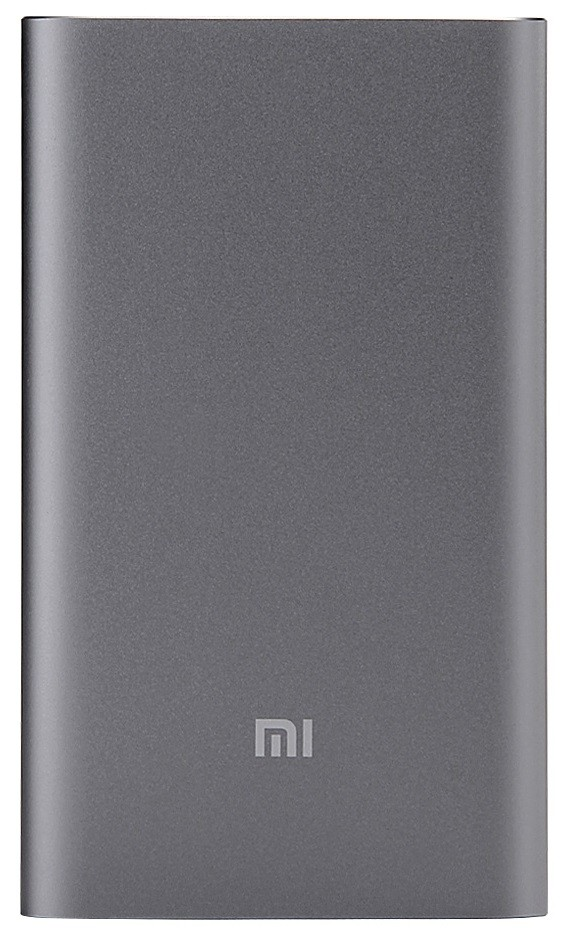 Портативная батарея Xiaomi Mi Power Bank 10000mAh Pro Grey - Фото 1