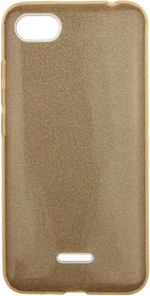 TOTO TPU Case Rose series 3 IN 1 Xiaomi Redmi 6A Gold - фото