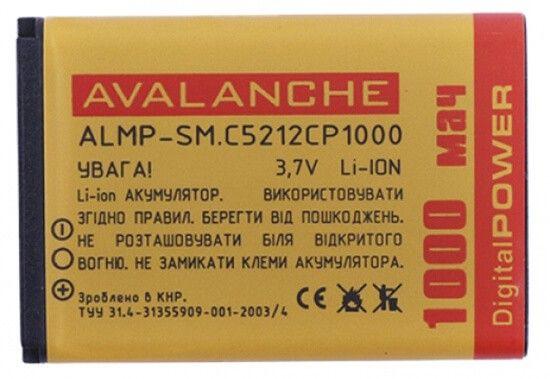 Аккумулятор Avalanche Premium для Samsung C5212 1000 mAh - Фото 1