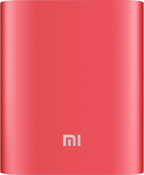 Xiaomi Mi Power Bank 10400mAh Red - фото