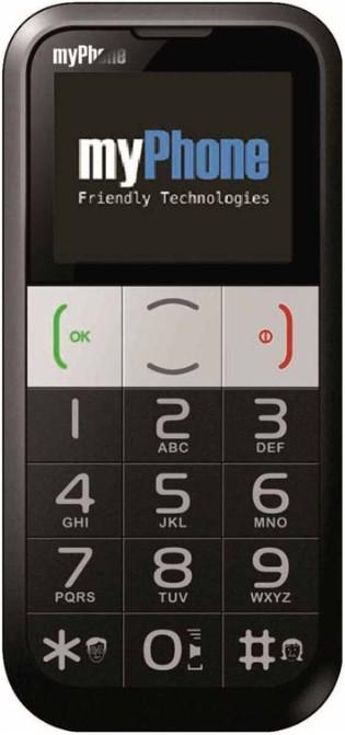 Мобильный телефон MyPhone 1082 Black - Фото 1