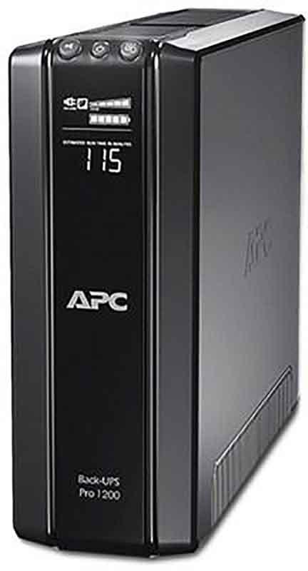 Купить ИБП, APC Back-UPS Pro 1200VA CIS (BR1200G-RS)