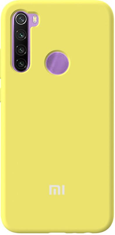 Купить Чехлы для телефонов, TOTO Silicone Full Protection Case Xiaomi Redmi Note 8 Yellow