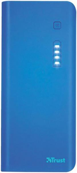 Trust Primo Power Bank 10000mAh Blue (22072) - фото